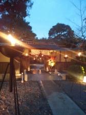 京都の会場&庭園演出